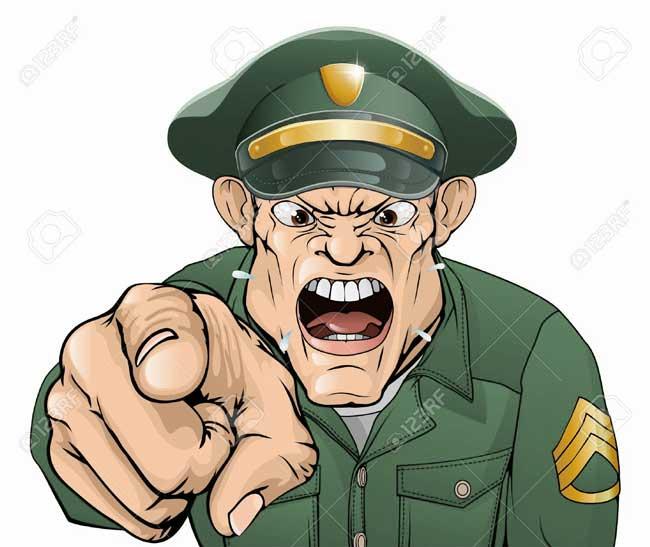 افسرنگهبان در سربازی